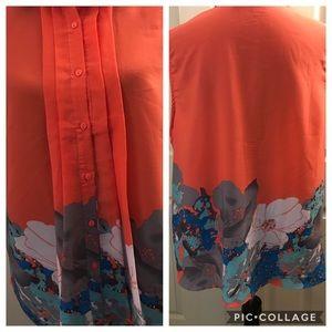 Jon & Anna sleeveless blouse size 3XL GUC